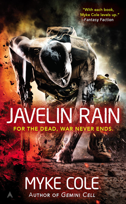Javelin Rain by Myke Cole