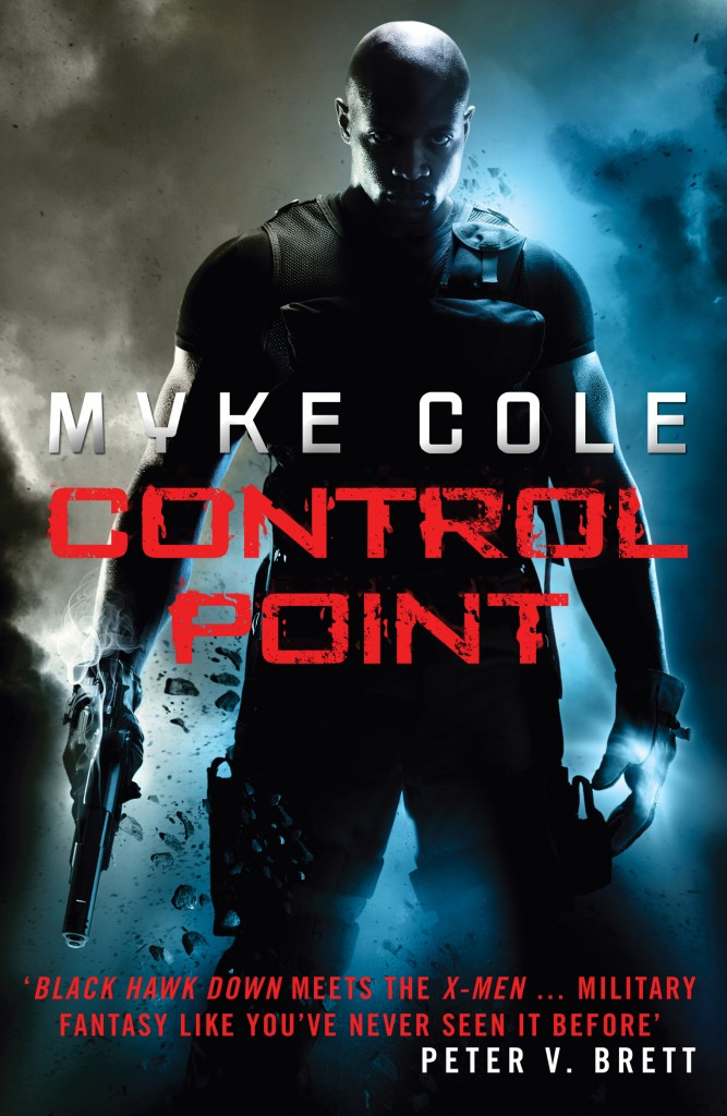 Control Point (UK Cover)