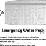 Brandon's Emergency Water Pack