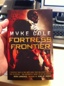 The UK edition of FORTRESS FRONTIER!
